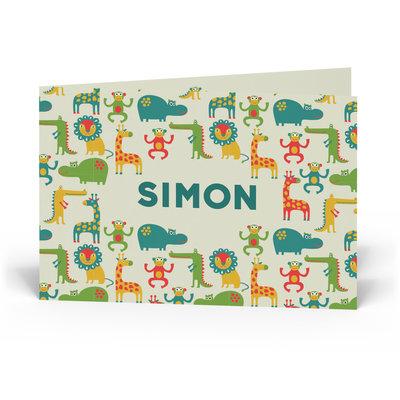 Geboortekaartje Simon