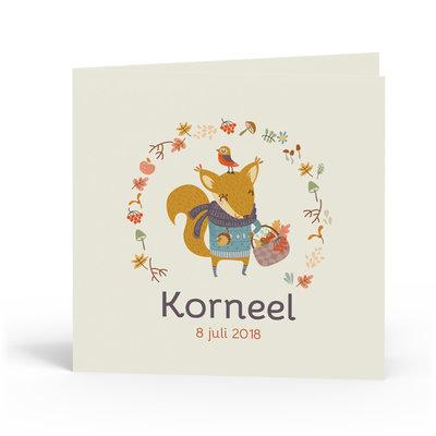 Geboortekaartje Korneel