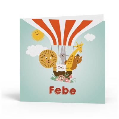 Geboortekaartje Febe