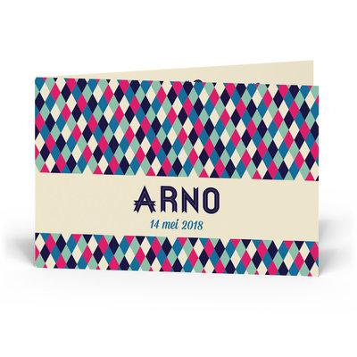 Geboortekaartje Arno