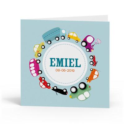 Geboortekaartje Emiel