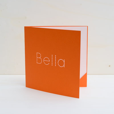 Geboortekaartje Bella