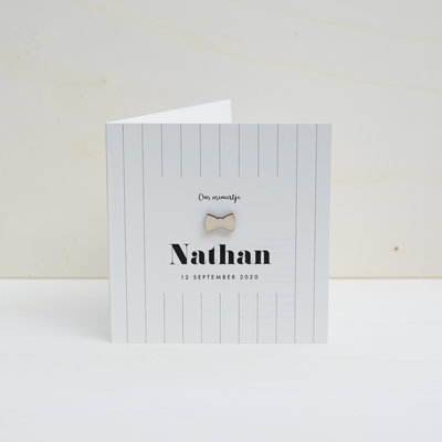 Geboortekaartje Nathan
