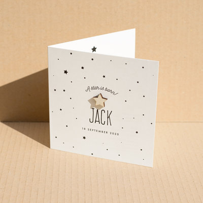 Geboortekaartje Jack