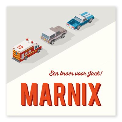 Geboortekaartje Marnix