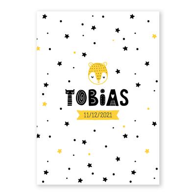 Geboortekaartje Tobias