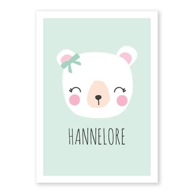Geboortekaartje Hannelore
