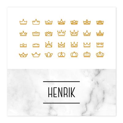 Geboortekaartje Henrik