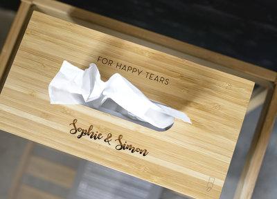 Gepersonaliseerde tissuebox
