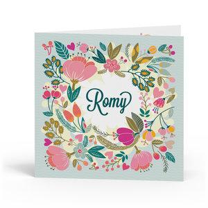 Geboortekaartje Romy