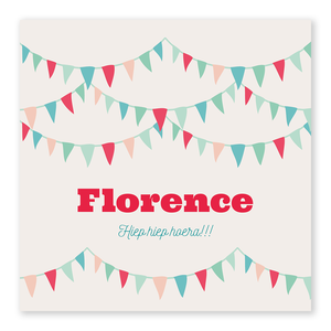 Geboortekaartje Florence