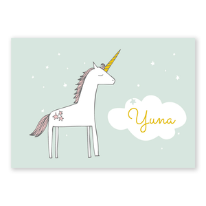 Geboortekaartje Yuna