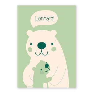 Geboortekaartje Lennard