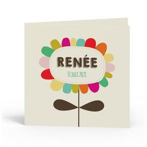 Geboortekaartje Renée