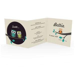 Geboortekaartje Bettie