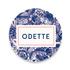 Geboortekaartje Odette_