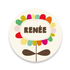 Geboortekaartje Renée_