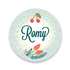 Geboortekaartje Romy_