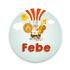 Geboortekaartje Febe_