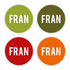 Geboortekaartje Fran_
