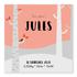Geboortekaartje Jules_