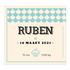 Geboortekaartje Ruben_