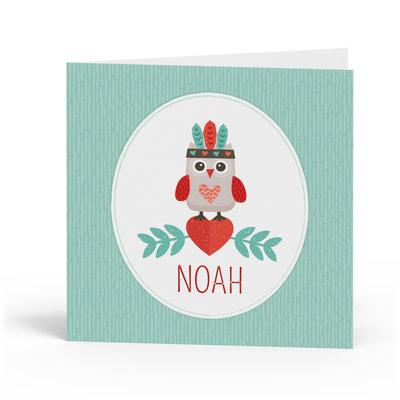Geboortekaartje Noah