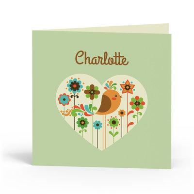 Geboortekaartje Charlotte