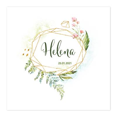 Geboortekaartje Helena