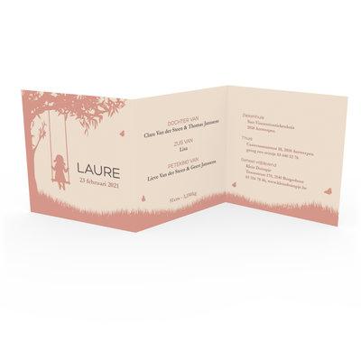 Geboortekaartje Laure