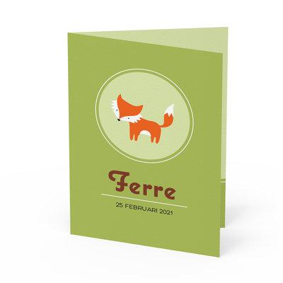 Geboortekaartje Ferre