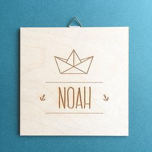 Geboortebord Noah