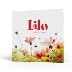 Geboortekaartje Lilo