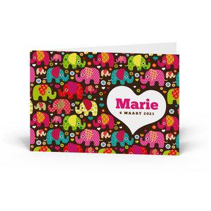 Geboortekaartje Marie