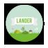 Geboortekaartje Lander_