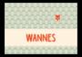 Geboortekaartje Wannes