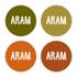 Geboortekaartje Aram_