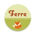 Geboortekaartje Ferre_
