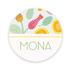 Geboortekaartje Mona_
