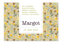 Geboortekaartje Margot